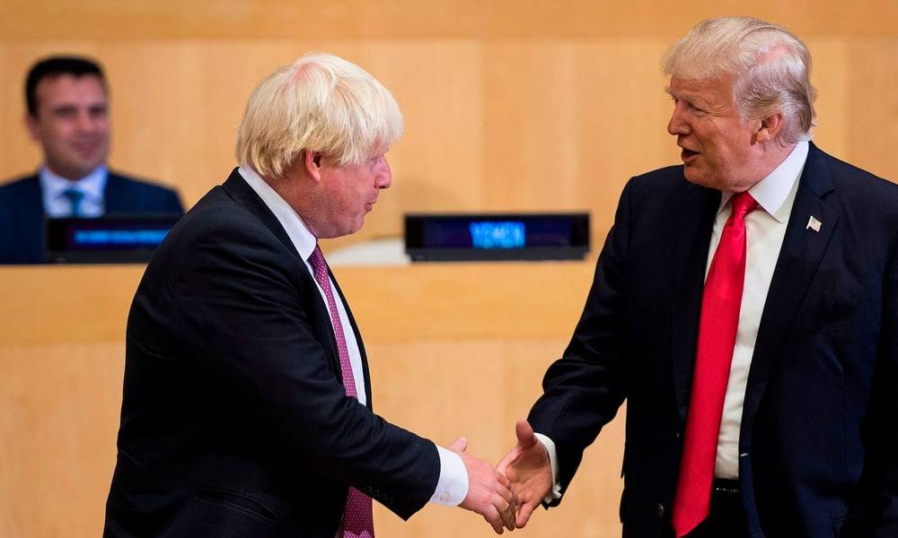 Boris Johnson took another page out of Trump's book by sending a family member — his dad — on a diplomatic mission