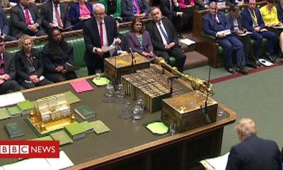 PMQs: Corbyn and Johnson on deportations and Windrush generation