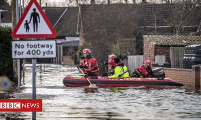 Floods: Budget will double spending on defences, says Treasury