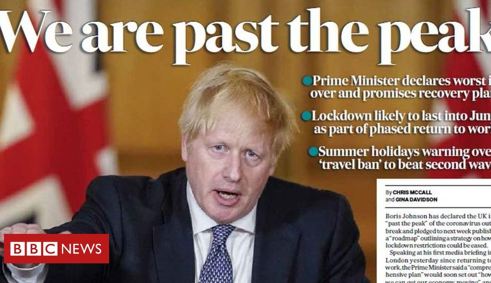 Scotland's papers: Passing the peak and day trip risk to lockdown