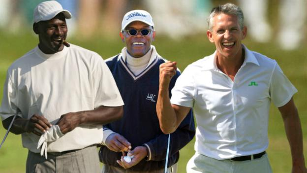 Sport 'A wager? Whatever makes you uncomfortable' – how legend Jordan psyched out Lineker's golf mate