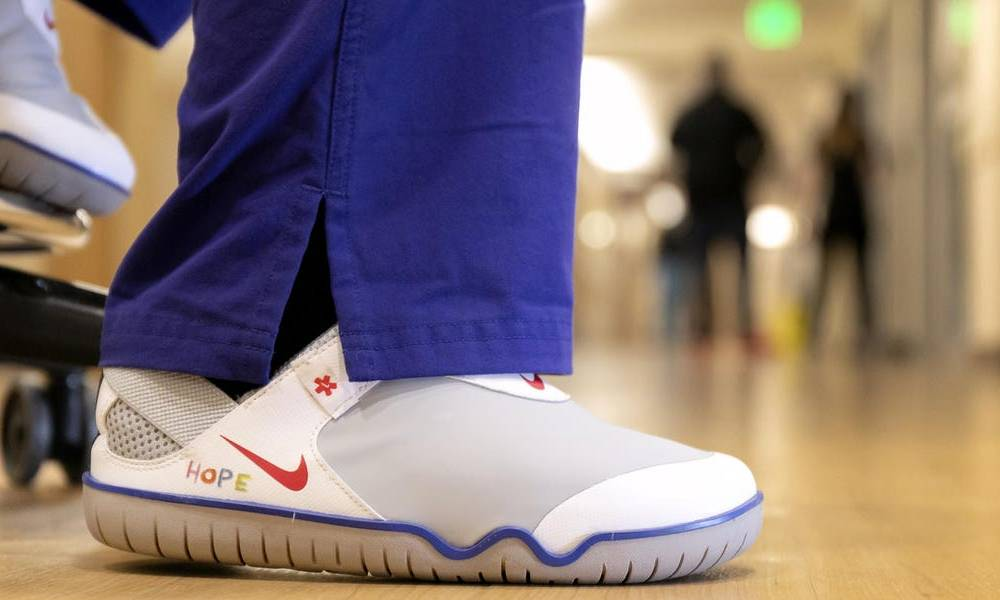 Nike is donating $5.5 million worth of sneakers and apparel products to healthcare workers in the US and Europe