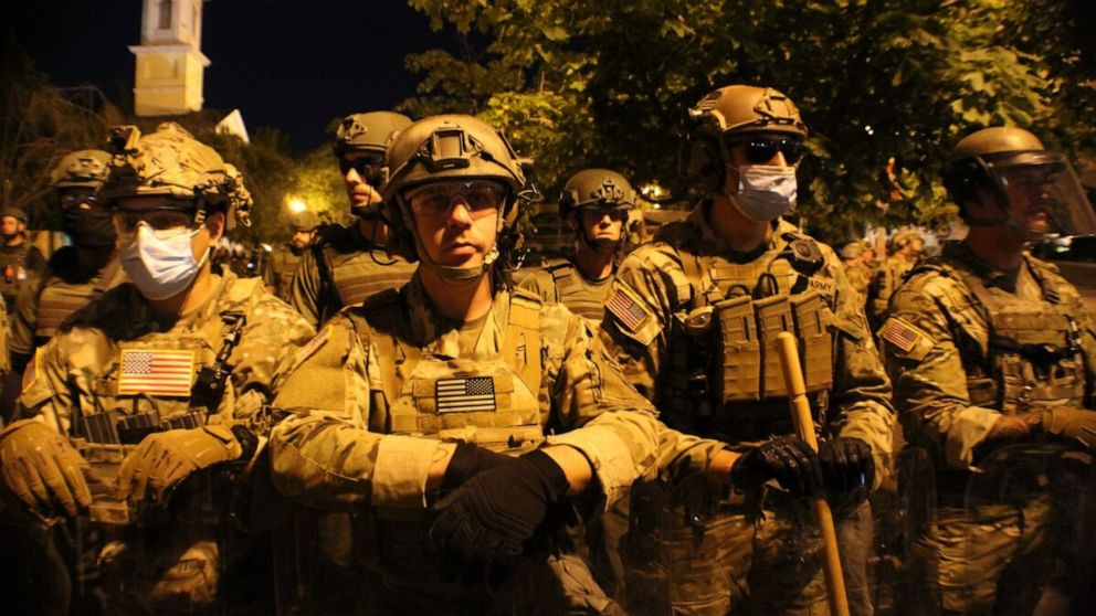 Questions arise over Special Forces guarding Donald Trump from protests