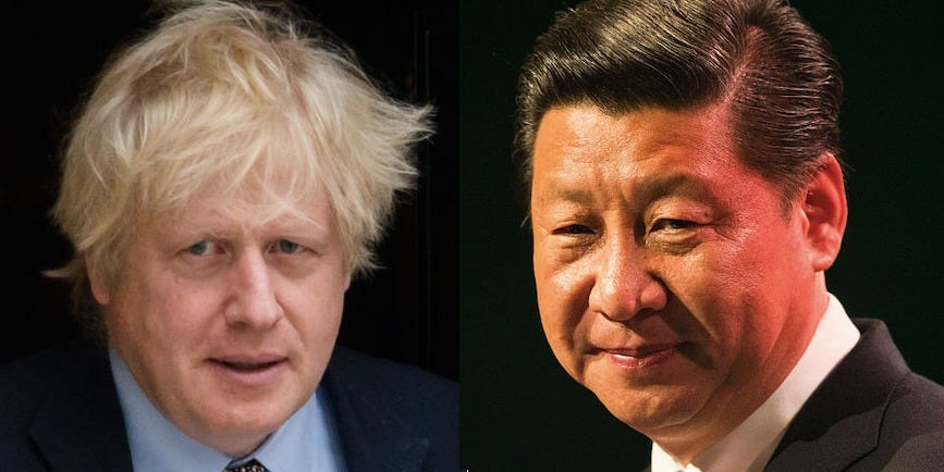 China warns the UK of 'substantial damage' to its economy if refuses to back down on Hong Kong