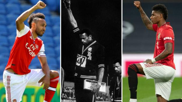 Sport 'Change is coming' – Tommie Smith backs sports stars making anti-racism stand