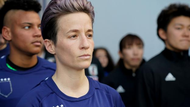 Sport Rapinoe withdraws from NWSL event amid coronavirus fears