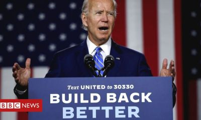 Trump Biden sets out $2tn plan for carbon-free electricity by 2035