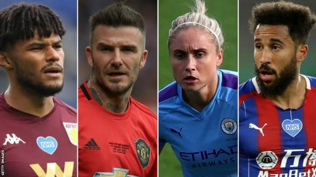 Sport 'I had to keep it all in' – Beckham, Mings, Hougton & Townsend talk mental health with Prince William
