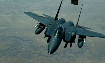 US confirms fighter jet flew close to Iranian jetliner above Syria