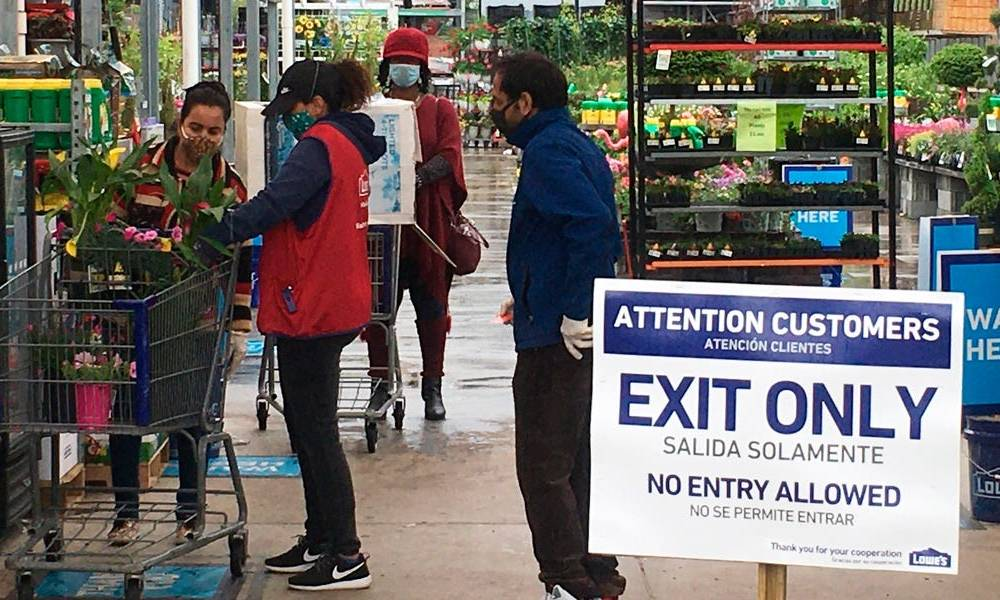 Lowe's won't allow employees to enforce its in-store mask rule over fears of violent anti-mask shoppers