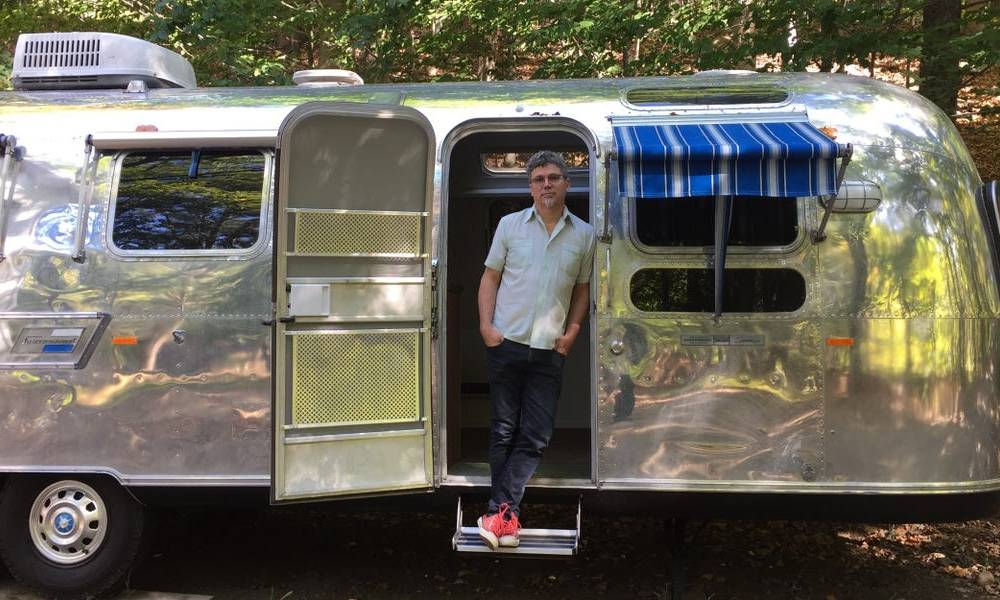 A husband and wife in the Hudson Valley convert vintage Airstreams into modern tiny homes and name them after famous women like Dolly Parton. Take a look inside 'Roberta,' their latest renovation.