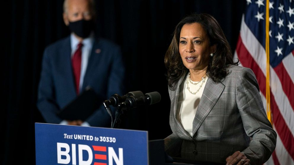 54% approve of Harris selection, including 1 in 4 Republicans: POLL