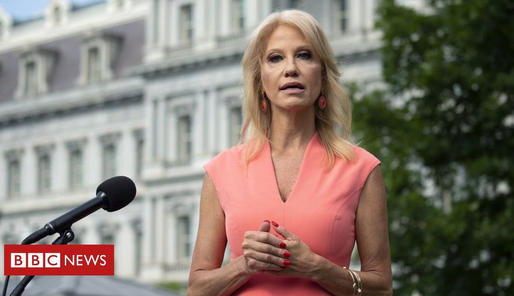 Trump Kellyanne Conway resigns as senior White House advisor