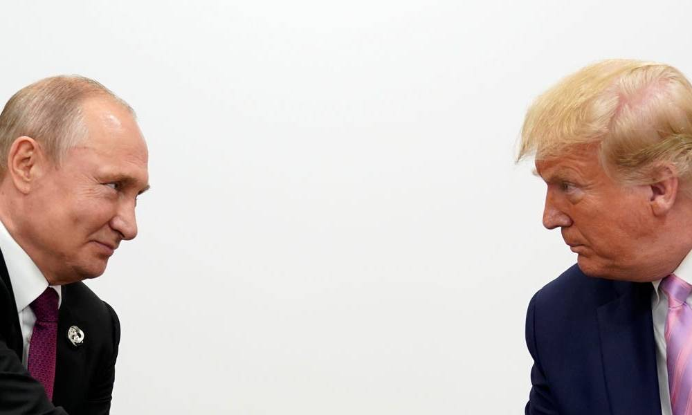 Trump remains silent on the poisoning of Putin's top opponent as other world leaders demand answers from Russia