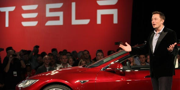 'It's Tesla's world and everyone else is paying rent,' says Wedbush analyst who sees further upside for its shares
