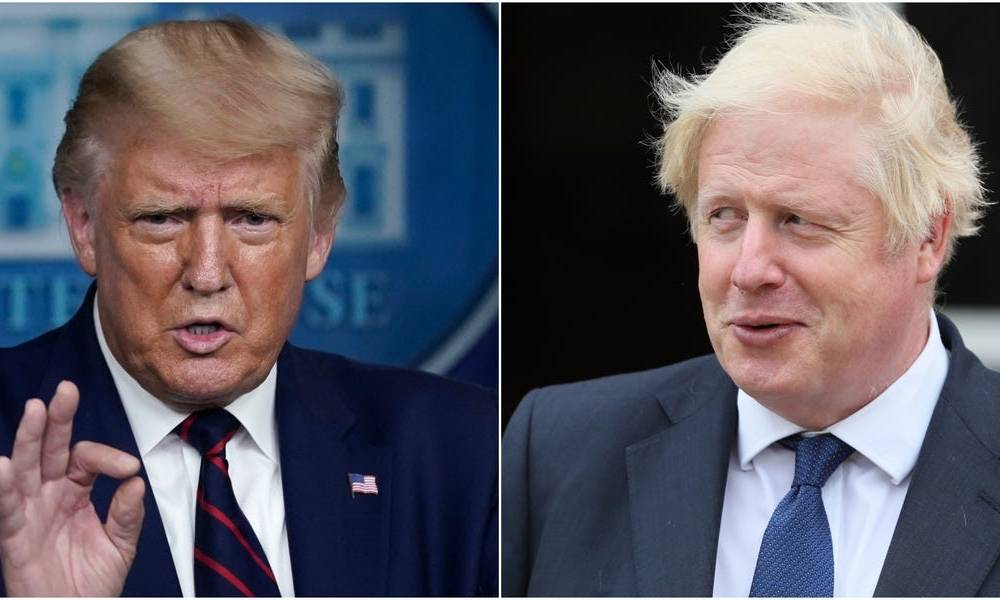 British Prime Minister Boris Johnson is intrigued by Trump's limited vocabulary and the simplicity of his messaging, the former British ambassador to the US said
