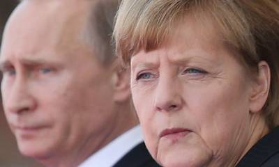 Germany is under pressure to abandon a giant gas pipeline from Russia after Putin's government was accused of poisoning Kremlin critic Alexei Navalny
