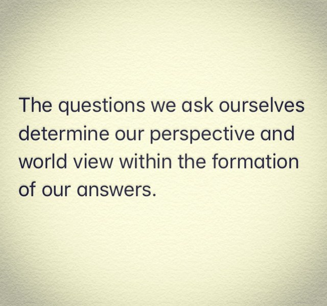 Ask bettter questions