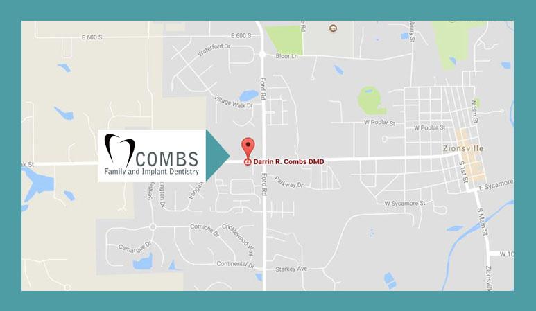 Darrin Combs Map Pin