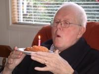 Dad's Last Birthday - 77