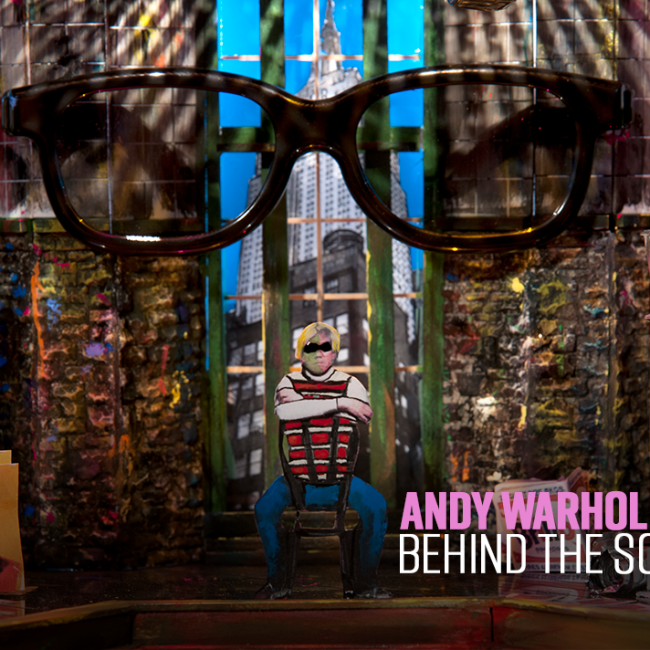 Any Warhol Behind the Scenes