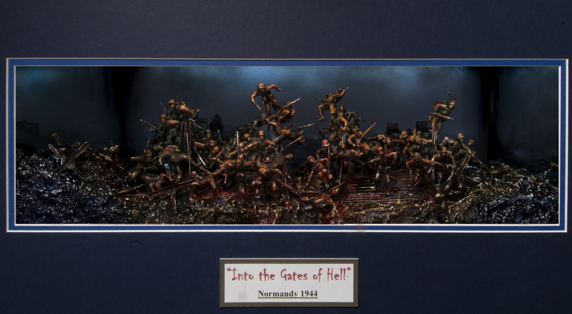 Into the Gates of Hell, Normandy 1944 - Darryl Audette, 2019