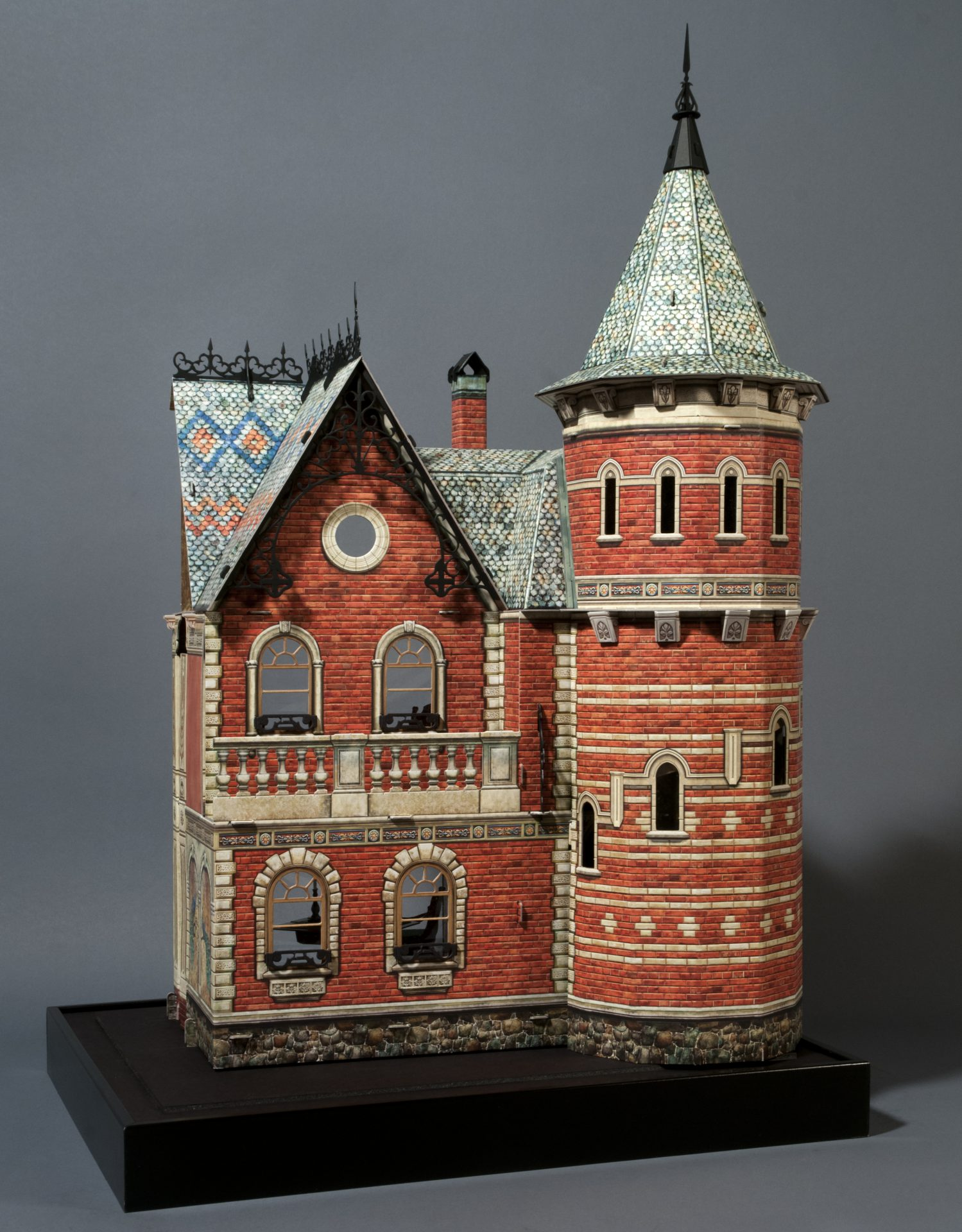 Russian Doll House crafted by Darryl Audette for Hobby Sense