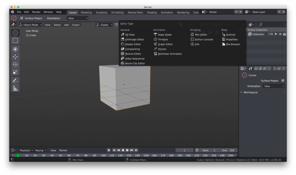 Blender 2.8 will ship with monochromatic icons Image 2