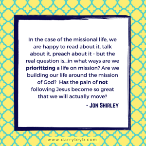 How to Missionally Engage your Community - Jon Shirley