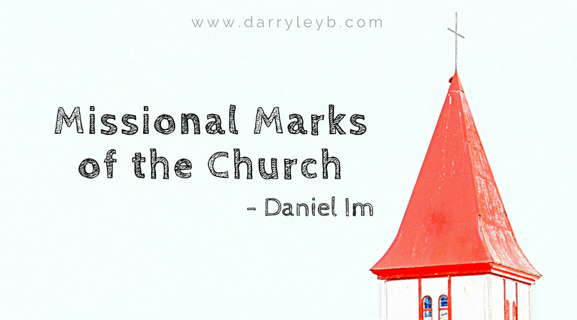 Missional Marks of the Church