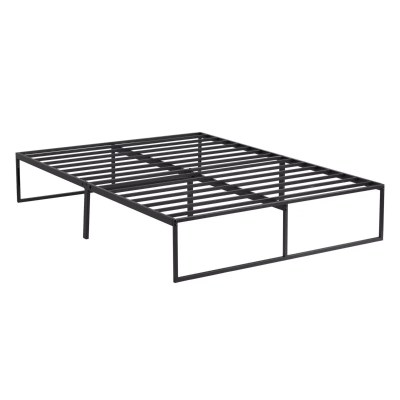 The Weekender™ Modern Platform Frame features clean lines, sturdy support, and 12 inches of underbed storage. This frame requires assembly.