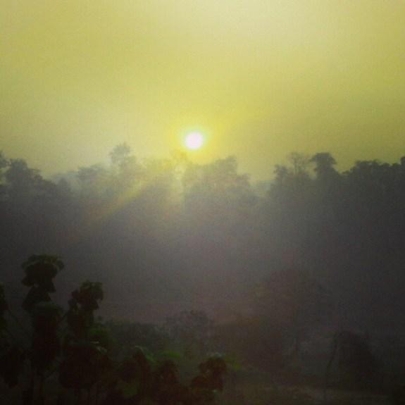 Morning View of Saputara, India