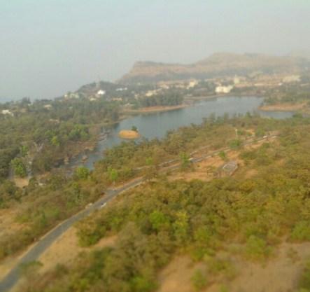 Top-view from Saputara
