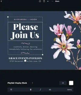 canva android app for blogger