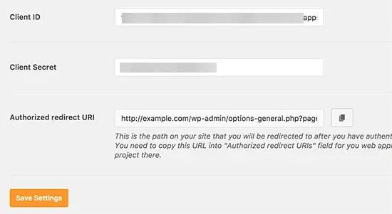 Adding credentials in plugin