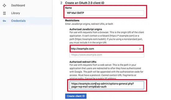 Google API OAuth 2.0