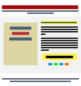 Design flow of Landing Page