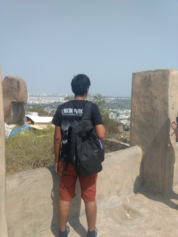!Golconda Fort with college friend and good times talk