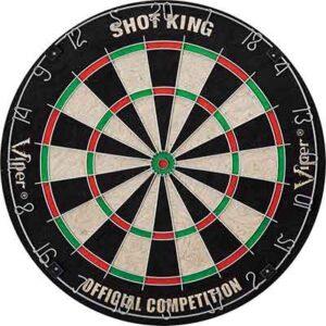 viper shot king sisal dartboard