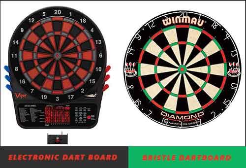 Electronic Dart Board vs Bristle Dartboard ! Which One You Buy ?