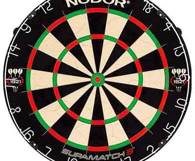Nodor SupaMatch 3 Bristle Dartboard