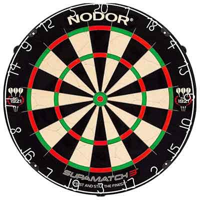 Nodor SupaMatch Bristle Dartboard Review