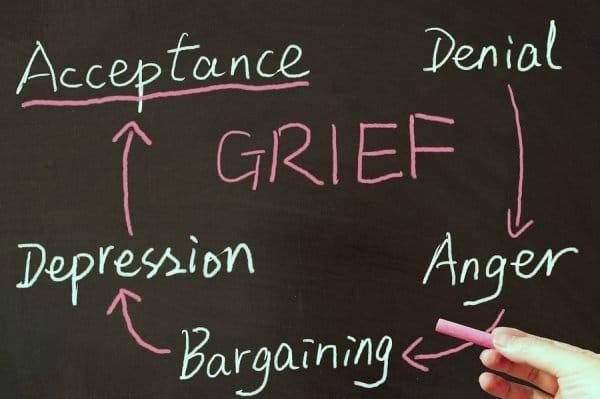 Client death addiction grief