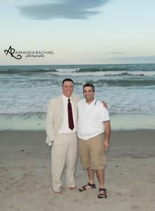 Cocoa beach wedding 2014