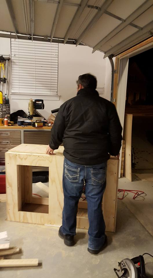 stand structure framing