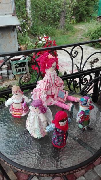 Sveta's handmade dolls