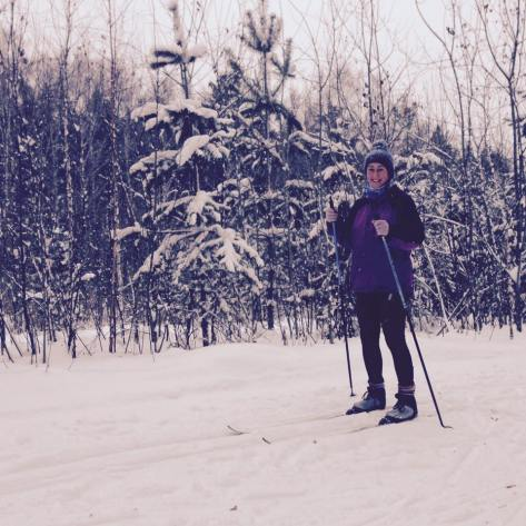 Cross-country skiing, Tomsk