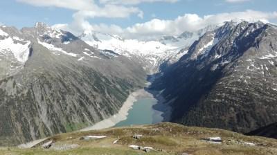 View from Olperer Hütte