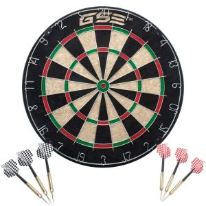 GSE Games & Sports Dartboard Cabinet Set