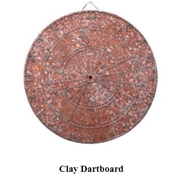 Clay Dartboard